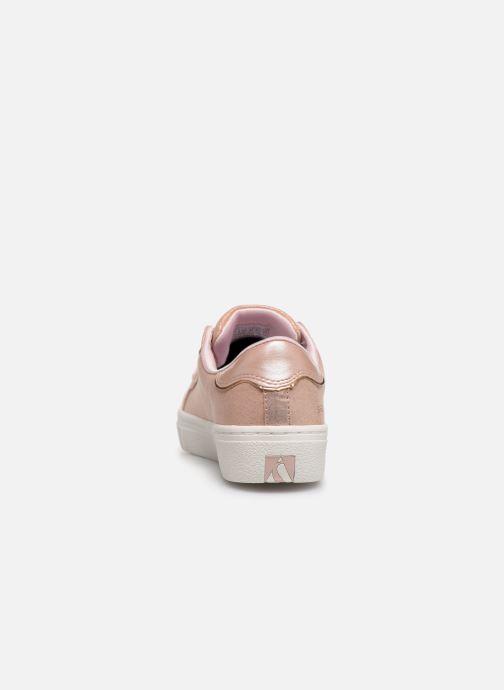 Sneakers Skechers Goldie Sparkle & Sweet Zilver rechts