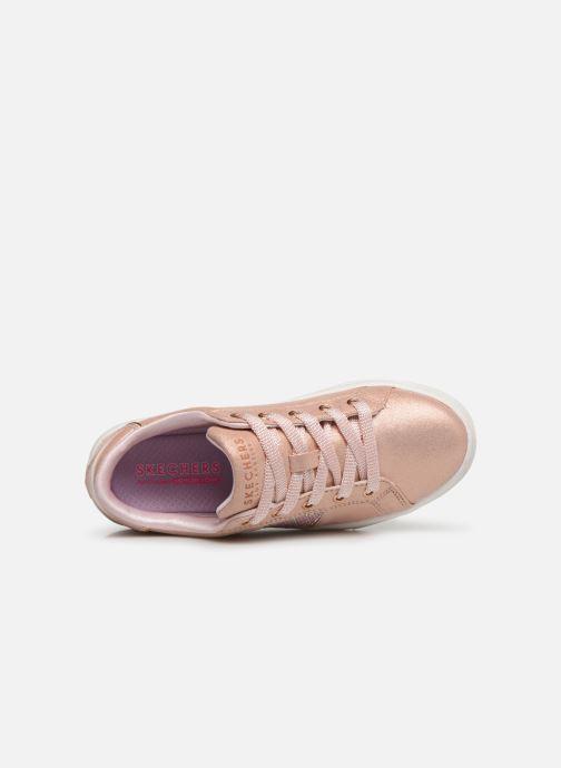 Baskets Skechers Goldie Sparkle & Sweet Argent vue gauche