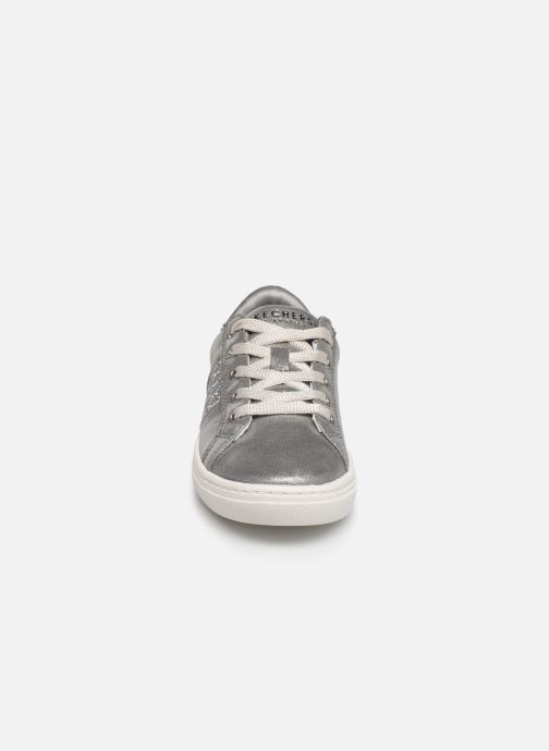 Trainers Skechers Goldie Sparkle & Sweet Silver model view