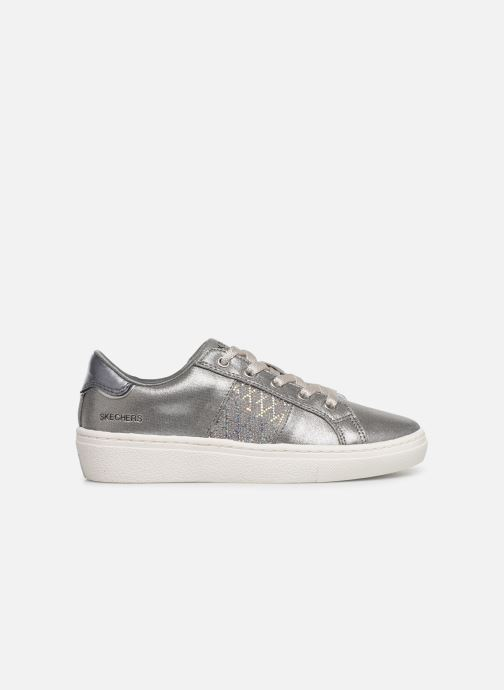 Trainers Skechers Goldie Sparkle & Sweet Silver back view