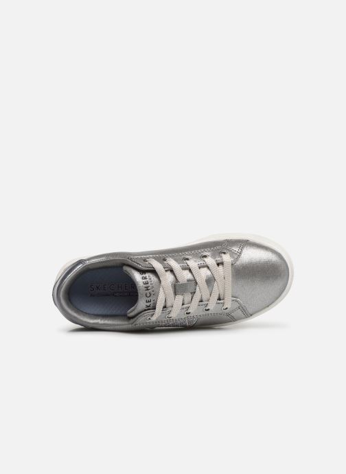 Trainers Skechers Goldie Sparkle & Sweet Silver view from the left
