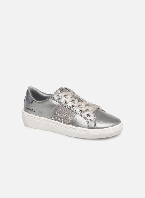 Trainers Skechers Goldie Sparkle & Sweet Silver detailed view/ Pair view