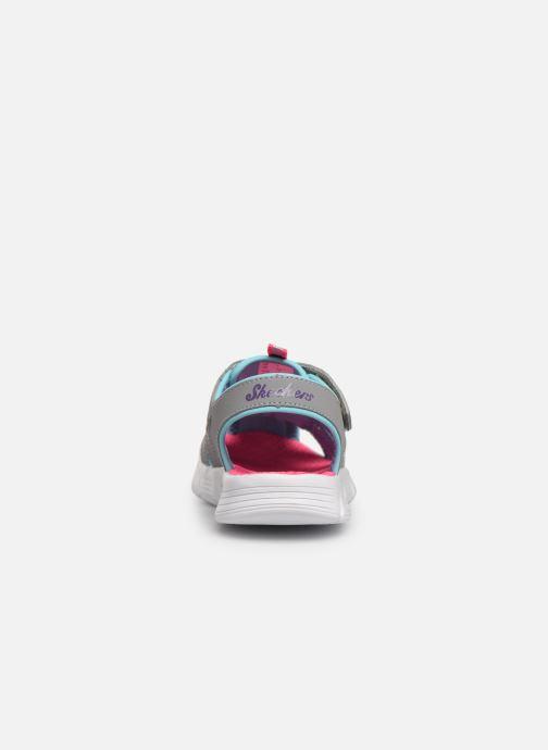Sandales et nu-pieds Skechers C-Flex Sandal Aqua Steps Gris vue droite