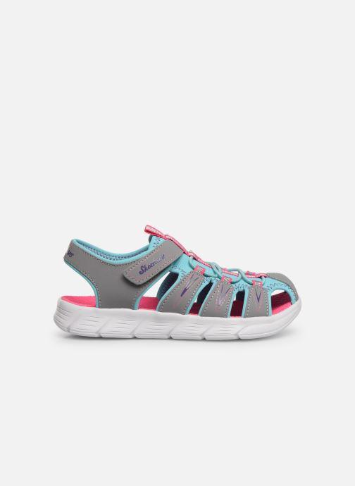 Sandales et nu-pieds Skechers C-Flex Sandal Aqua Steps Gris vue derrière