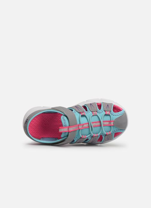 Sandalias Skechers C-Flex Sandal Aqua Steps Gris vista lateral izquierda