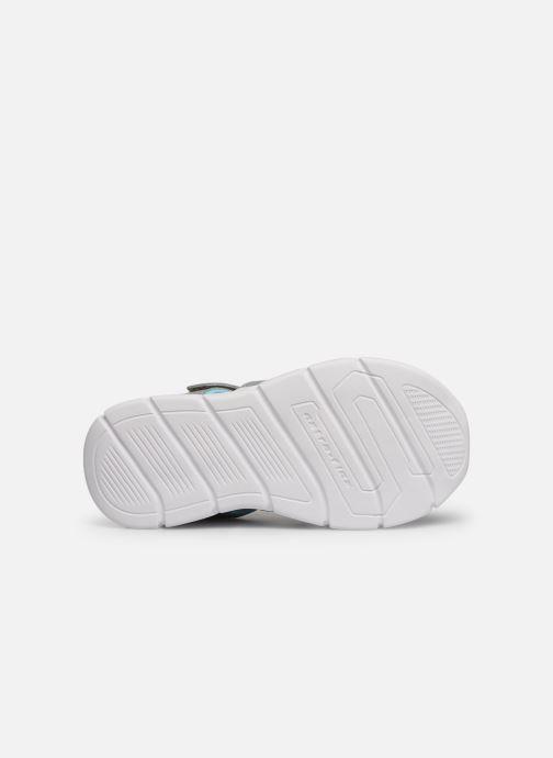 Sandales et nu-pieds Skechers C-Flex Sandal Aqua Steps Gris vue haut