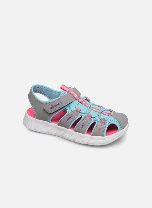 Sandales et nu-pieds Skechers C-Flex Sandal Aqua Steps Gris vue détail/paire
