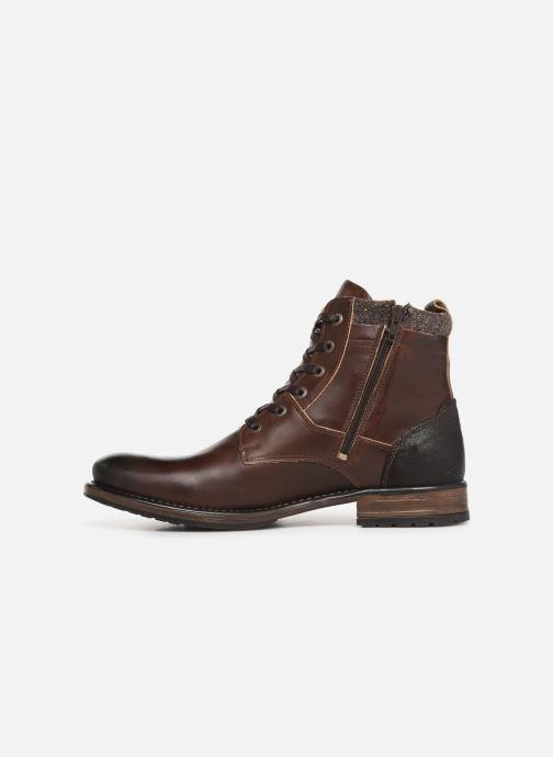 Boots en enkellaarsjes Redskins Ylmaz Bruin voorkant
