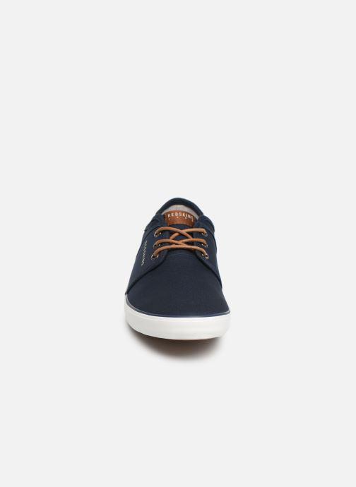Baskets Redskins Nakat Bleu vue portées chaussures