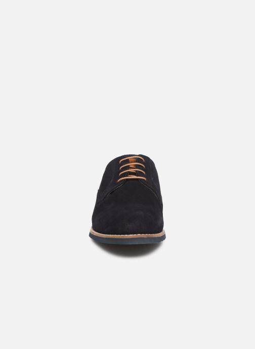 Zapatos con cordones Redskins Franck Azul vista del modelo