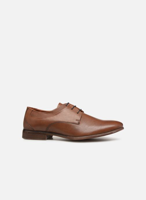 Lace-up shoes Redskins Numeri Brown back view