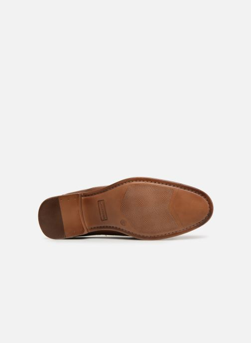 Lace-up shoes Redskins Numeri Brown view from above