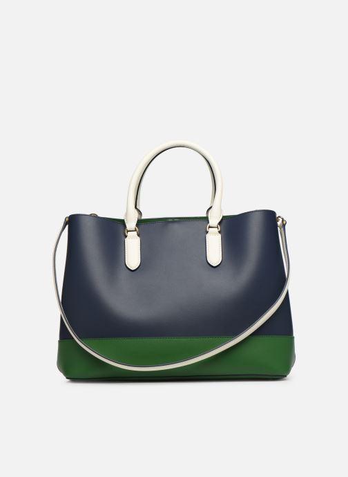 Handtaschen Lauren Ralph Lauren MARCY SATCHEL blau ansicht von vorne
