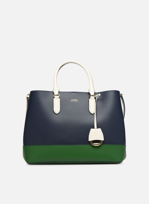 Handtaschen Lauren Ralph Lauren MARCY SATCHEL blau detaillierte ansicht/modell