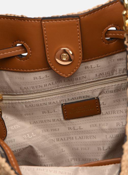 Sacs à main Lauren Ralph Lauren DRYDEN DRAWSTRING Beige vue derrière