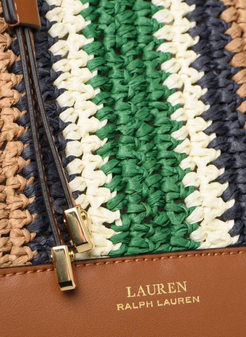 Sacs à main Lauren Ralph Lauren DRYDEN DRAWSTRING Beige vue gauche