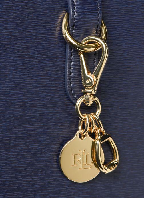 Handtaschen Lauren Ralph Lauren BENNINGTON SATCHEL blau ansicht von links