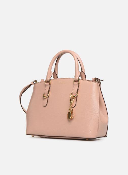 Handtassen Lauren Ralph Lauren BENNINGTON SATCHEL Roze model