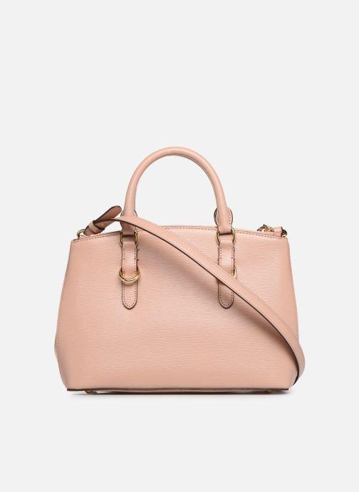 Handtaschen Lauren Ralph Lauren BENNINGTON SATCHEL rosa ansicht von vorne