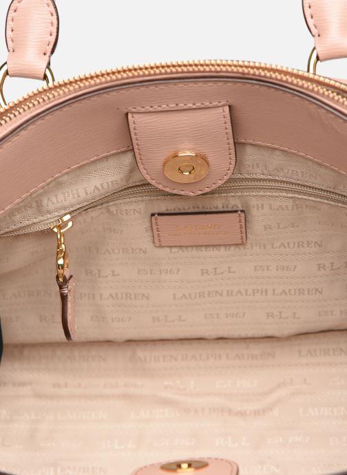 Handtassen Lauren Ralph Lauren BENNINGTON SATCHEL Roze achterkant