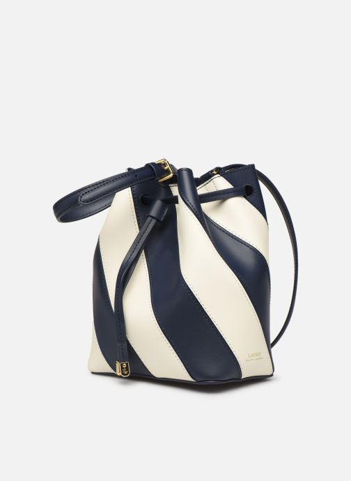 Handtaschen Lauren Ralph Lauren DRYDEN DRAWSTRING MINI blau schuhe getragen