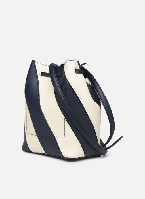 Handtaschen Lauren Ralph Lauren DRYDEN DRAWSTRING MINI blau ansicht von rechts