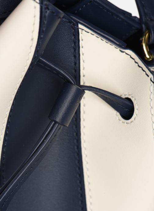 Handtaschen Lauren Ralph Lauren DRYDEN DRAWSTRING MINI blau ansicht von links