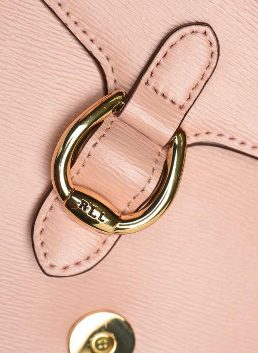Bolsos de mano Lauren Ralph Lauren BENNINGTON CROSSBODY Rosa vista lateral izquierda