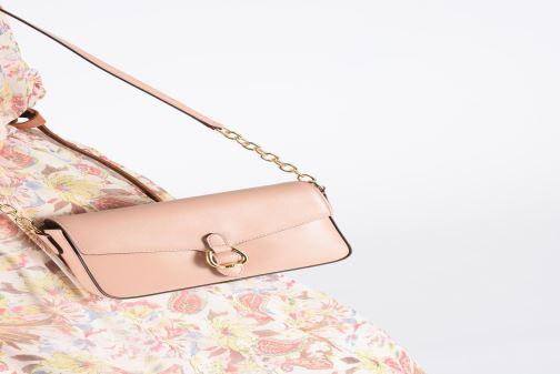 Bolsos de mano Lauren Ralph Lauren BENNINGTON CROSSBODY Rosa vista de abajo
