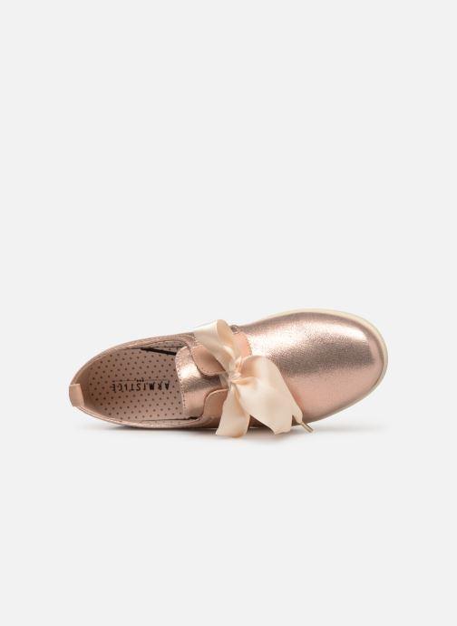 Chaussures à lacets Armistice Stone One Placebo Rose vue gauche