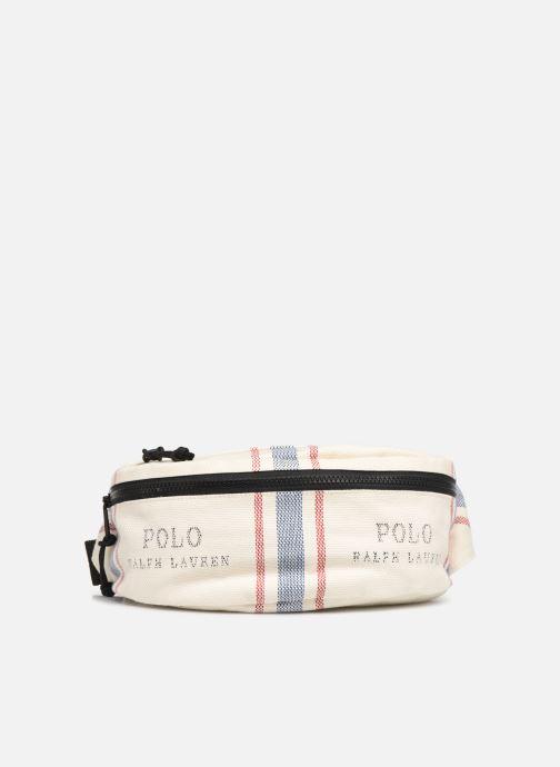 Petite Maroquinerie Polo Ralph Lauren FANNY PACK CROSSBODY SMALL Blanc vue détail/paire