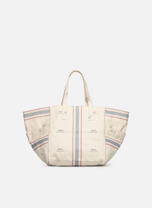 Handtaschen Polo Ralph Lauren MD SQ LDRY TOTE M weiß ansicht von vorne