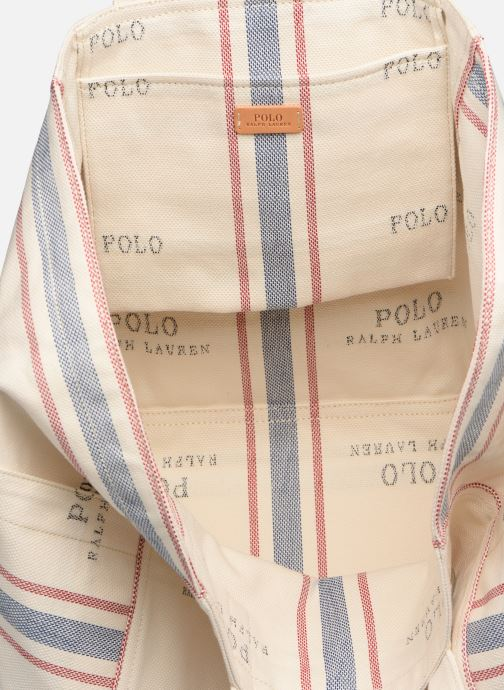 Bolsos de mano Polo Ralph Lauren MD SQ LDRY TOTE M Blanco vistra trasera