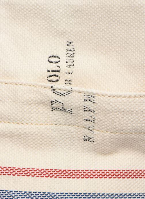 Bolsos de mano Polo Ralph Lauren MD SQ LDRY TOTE M Blanco vista lateral izquierda