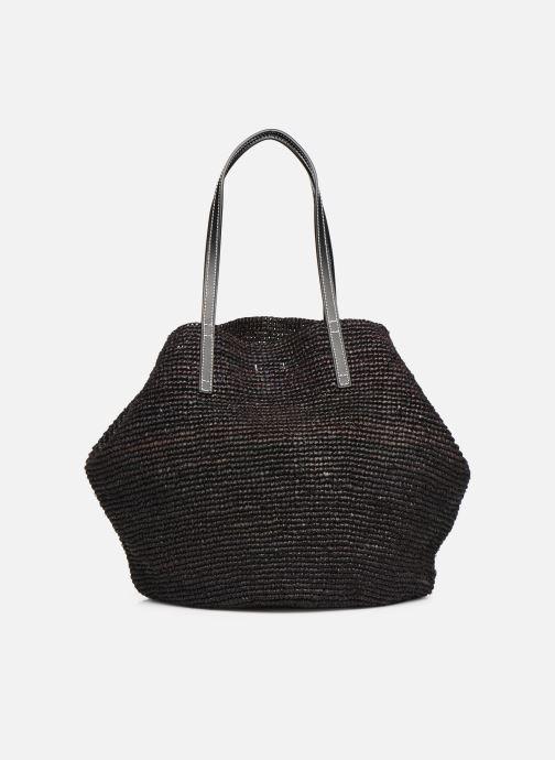 Handtaschen Polo Ralph Lauren LG P RAF TOTE L schwarz ansicht von vorne