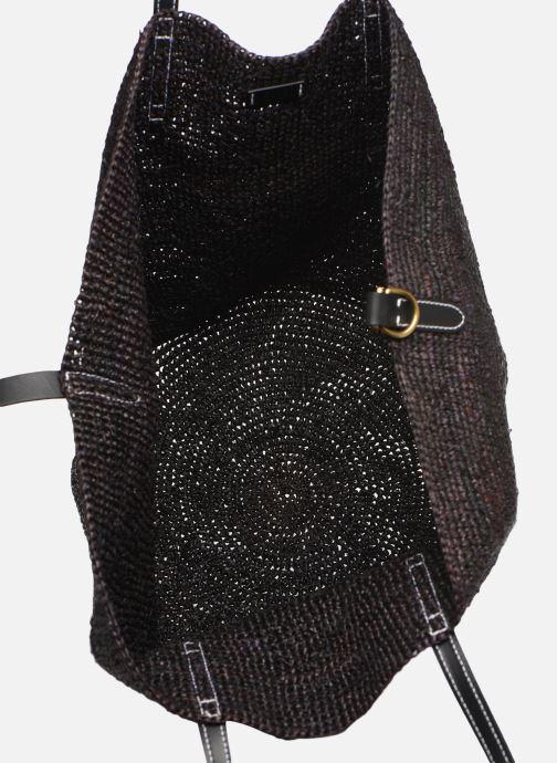 Handtaschen Polo Ralph Lauren LG P RAF TOTE L schwarz ansicht von hinten