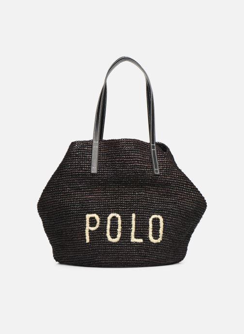 Sacs à main Polo Ralph Lauren LG P RAF TOTE L Noir vue détail/paire