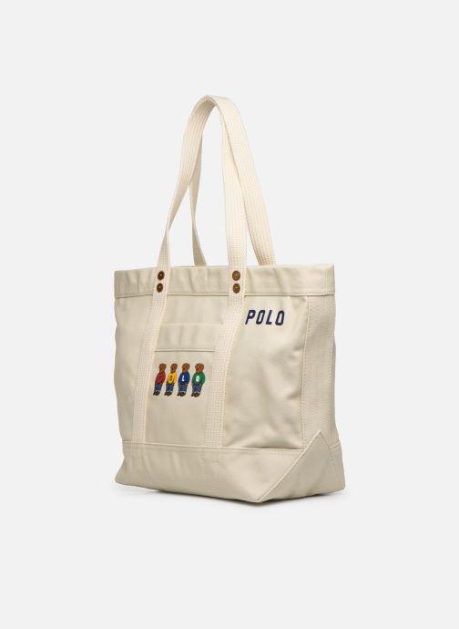 Handtassen Polo Ralph Lauren PP TOTE M Wit model