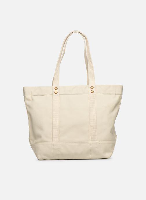 Handtassen Polo Ralph Lauren PP TOTE M Wit voorkant