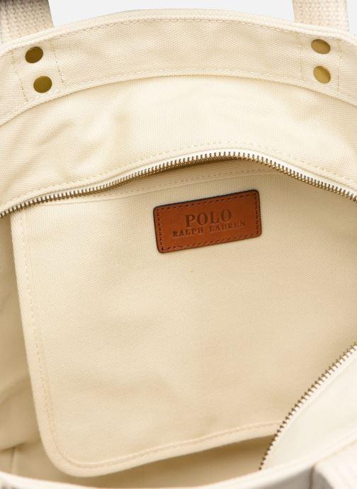 Handbags Polo Ralph Lauren PP TOTE M White back view