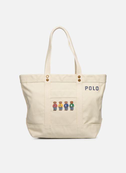 Handtassen Polo Ralph Lauren PP TOTE M Wit detail