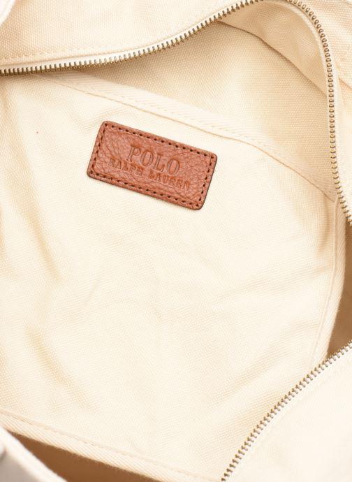 Sacs à main Polo Ralph Lauren PP TOTE M Blanc vue derrière