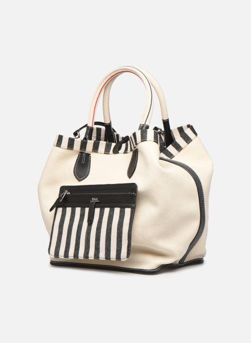 Handbags Polo Ralph Lauren LG REVERSIBLE TOTE L White model view