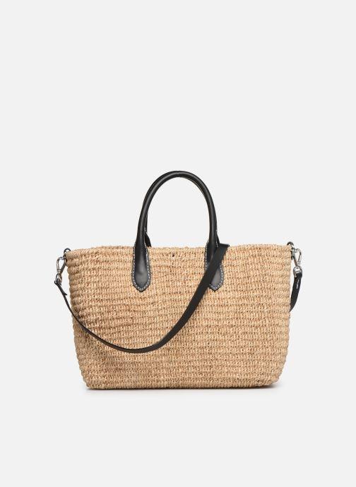 Handtaschen Polo Ralph Lauren STRUCTURED BASKET TOTE S beige ansicht von vorne