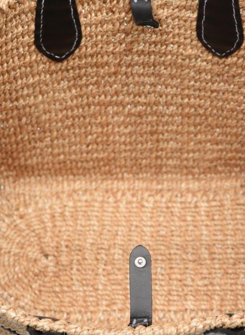 Handtaschen Polo Ralph Lauren STRUCTURED BASKET TOTE S beige ansicht von hinten