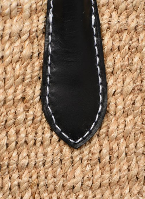 Sacs à main Polo Ralph Lauren STRUCTURED BASKET TOTE S Beige vue gauche