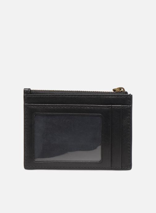 Petite Maroquinerie Polo Ralph Lauren ZIP CC CARD CASE S Noir vue face