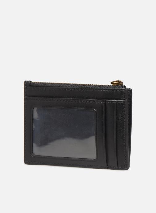 Petite Maroquinerie Polo Ralph Lauren ZIP CC CARD CASE S Noir vue droite