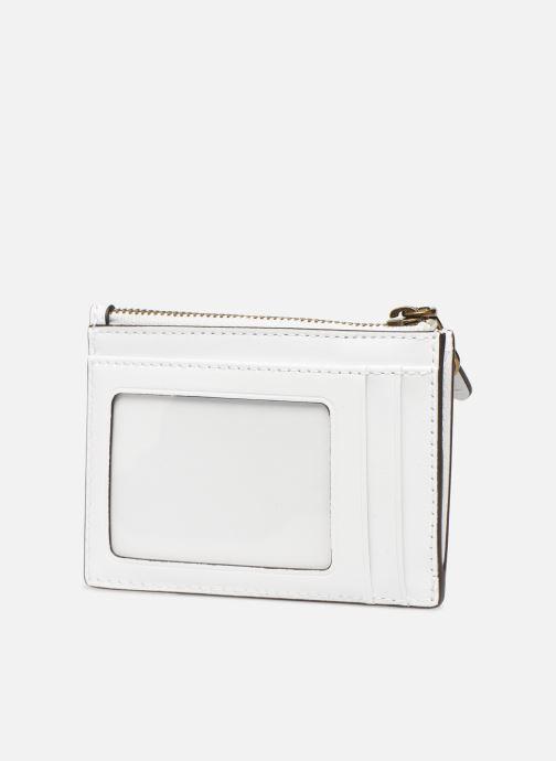 Portemonnaies & Clutches Polo Ralph Lauren ZIP CC CARD CASE S weiß ansicht von rechts