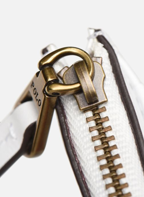 Petite Maroquinerie Polo Ralph Lauren ZIP CC CARD CASE S Blanc vue gauche